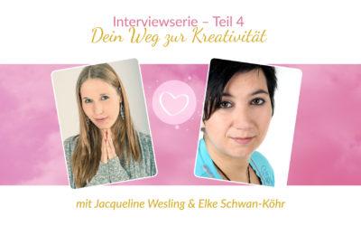 Interviewserie Teil 4 – Dein Weg zur Kreatitivität mit Elke Schwan-Köhr