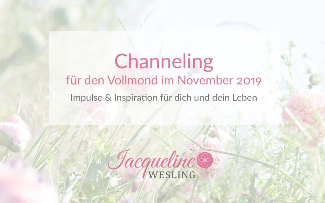 Channeling für den Vollmond im November 2019